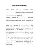 IAS / IAL Edexcel Biology Unit 1 Topic 1: Cardiac Cycle