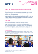 Teach mental health and well being in Primary schools