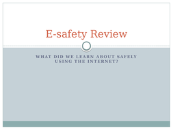E-safety-Review.pptx
