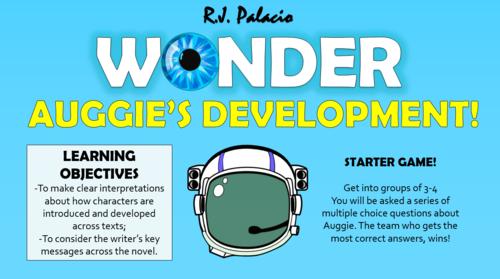 Wonder - Auggie's Development!