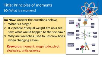 Physics - moments