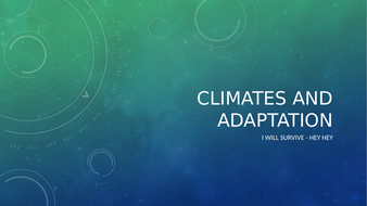 Climates-and-Adaptation.pptx