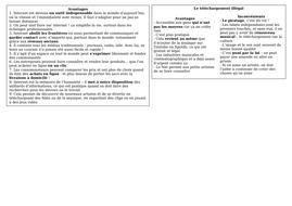 AS / A level / Pre-U revision mat - L'Internet