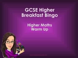 Breakfast-Bingo---GCSE-Higher.ppt