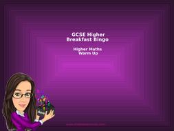 Breakfast-Bingo---GCSE-Higher.pptx