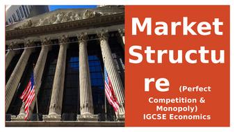 Market Structure (Perfect Competition & Monopoly)IGCSE Economics