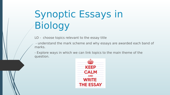 Synoptic-Essays-in-Biology.pptx