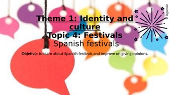 Speaking---GenCon---Theme-1-Identity-and-Culture---Topic-Festivals---Spanish-festivals.pptx