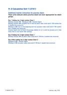 Add by partitioning or counting on - Practice Worksheets & Answers - Year 2