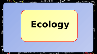 Ecology-Revision.pptx