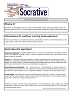 'How to' leaflet - Socrative quizzes