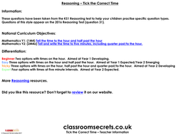 Tick-the-Correct-Time-KS1-Reasoning.pdf
