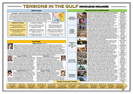 Tensions in the Gulf - Knowledge Organiser/ Revision Mat!