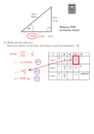 TRIGONOMETRY EXAM QUESTIONS (2D, 3D and NON-CALC