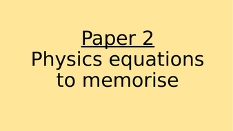 PHYSICS-PAPER-2-EQUATIONS.pptx
