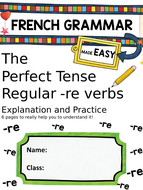 Perfect-Tense--re-verbs.pptx
