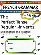 Perfect-Tense-Booklet-reg-ir-verbs.pptx