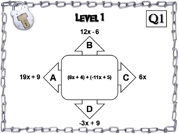 Adding Polynomials Activity: Algebra Escape Room Math Game