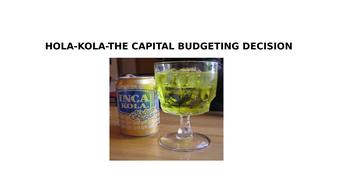 Hola kola case study
