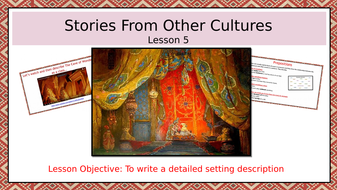 Stories-From-Other-Cultures--lesson-5--setting-description.pptx