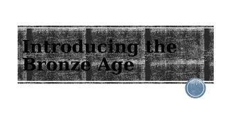 Into to Bronze Age lesson: making bronze