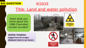 AQA new specification-Land and water pollution-B18.2