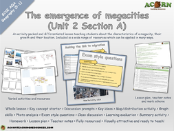 Unit-2---Section-A---Lesson-5---The-emergence-of-mega-cities---AcornTeachingResources.pptx