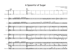 Mary Poppins Band Music for Intermediate level and Script