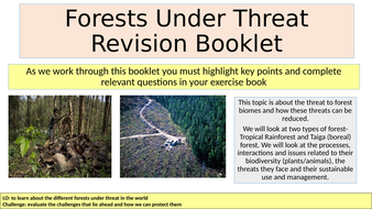 Forests-Under-Threat-Revision-Booklet.pptx