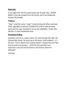 Supertato Storymap and shortened story for Foundation  Year 1 English creative writing storytelling