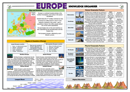 Europe Knowledge Organiser/ Revision Mat!