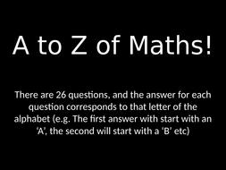 A-to-Z-of-Maths.pptx