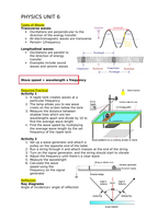 Physics AQA GCSE topic 6 WITH required practicals
