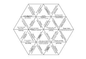 'Macbeth' Editable Tarsia Puzzle