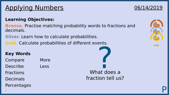 Calculating Probability: Lesson 2/13