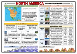 North America Knowledge Organiser/ Revision Mat!
