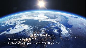 KS3 AQA Activate 7.2.3 The Earth