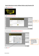 Step by Step  practical activities how to use Fireworks CS6 and Dreamweaver for Year 8  pupils