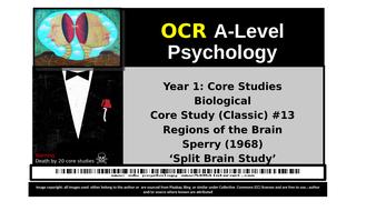OCR A-Level Psychology: Core Study #13 Sperry (1968) Split Brain Study