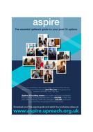 Career/University Info - aspire toolkit