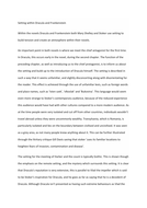 Setting within Frankenstein and Dracula A* essay