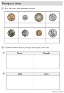 Year-1---WORKSHEETS---Recognise-coins.pdf
