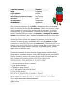 Spanish Relative Pronouns Reading: Vamos de caminata (que, quien, lo que etc.)