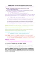 Language Methods Defined With Examples (GCSE English Language AQA)