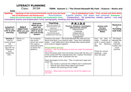 20 Lesson Plans based on book The Street Beneath My Feet by Charlotte Guillain and  Yuval Zommer