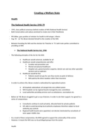 History Britain 1918-1998 - Whole paper notes
