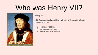 Henry-VII-Primary-sources.pptx