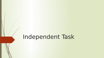 Independent-Task.pptx