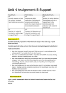 Help Sheets for Unit 4: Laboratory Techniques (Applied Science Level 3)