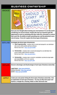 Business Ownership Lesson